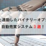 MT4が自動で稼ぐ!バイナリーオプションのオススメ自動売買システム2選!